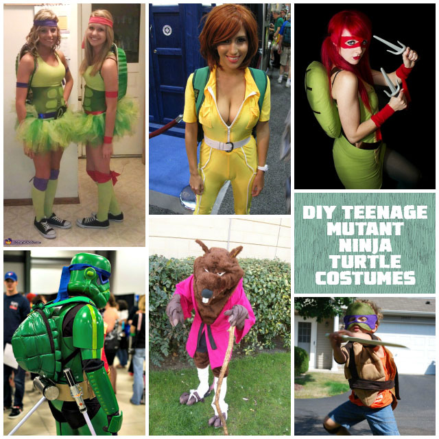 59 homemade diy teenage mutant ninja turtle costumes solutioingenieria Images