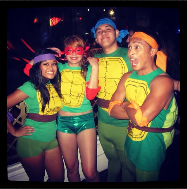 teenage mutant ninja turtles group costume 2 - Good Halloween Costumes For Big Guys