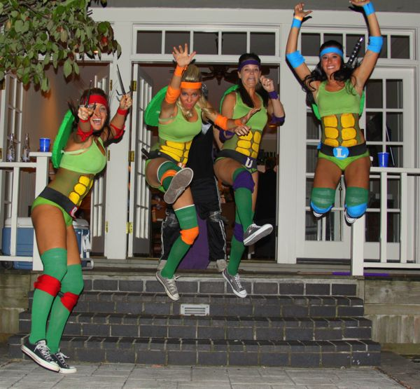 Teenage mutant ninja turtles costume for teen girls - photo#14