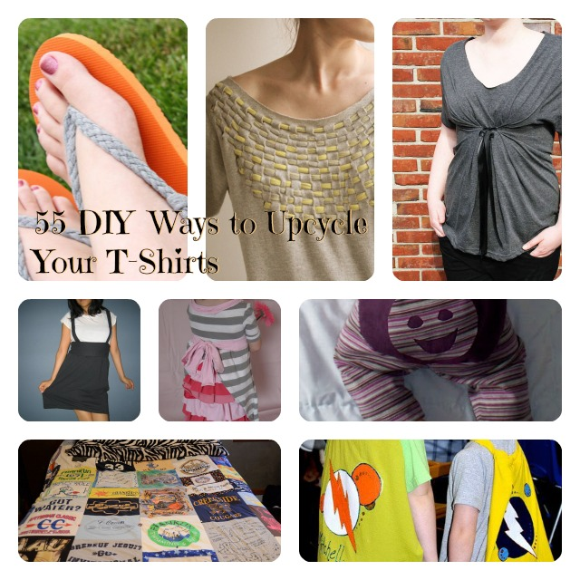 55 Diy Ideas To Upcycle Your Favorite Old T Shirt