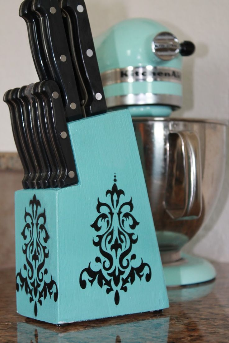 Upcycling Old Knife Holder Bigdiyideas Com