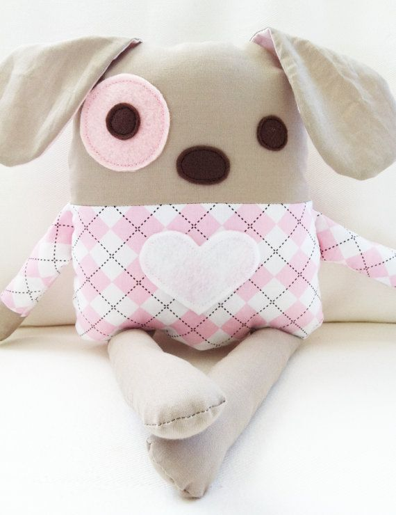 Dog Sewing Pattern Plush Dog Softie Pattern