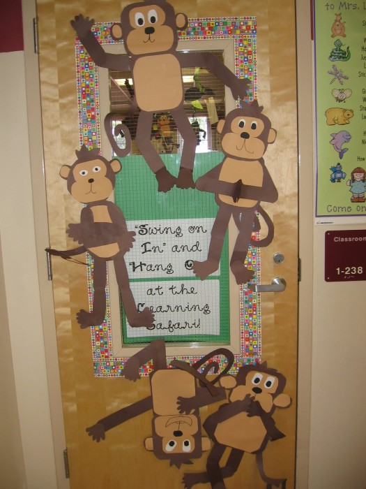 Classroom Door Ideas Jungle ~ Classroom door decoration projects for teachers