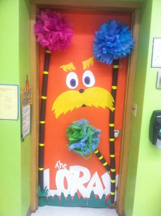 Lorax Classroom Decor ~ Classroom door decoration projects for teachers