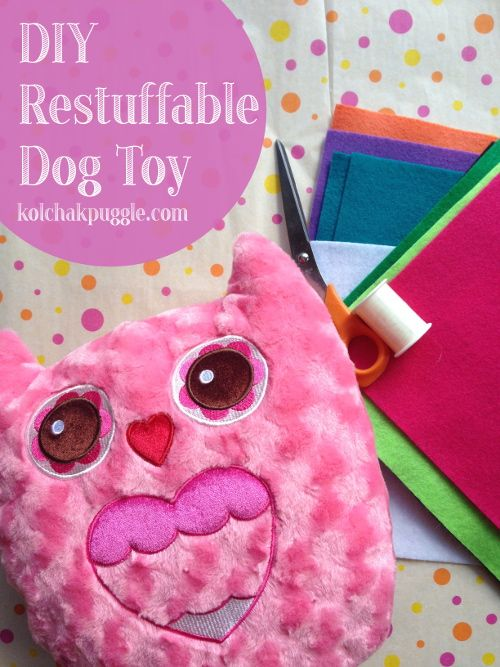 Restuffable, Easy DIY Dog Toy