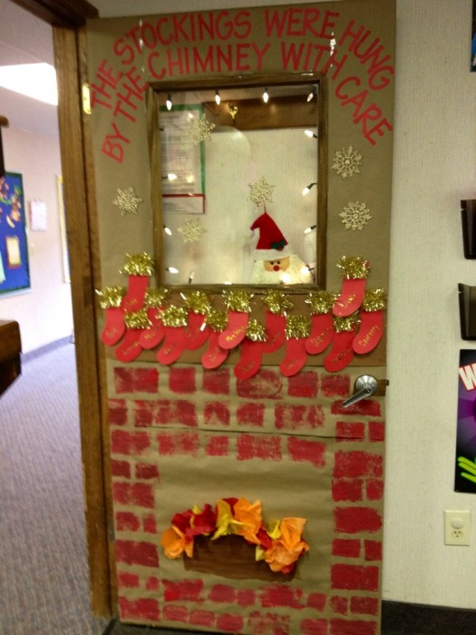 grinch door decoration diy for christmas