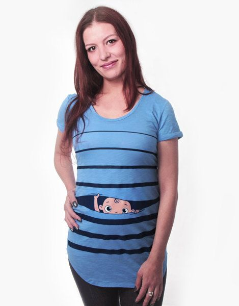 Pregnancy Clothing, Funny Maternity Shirt