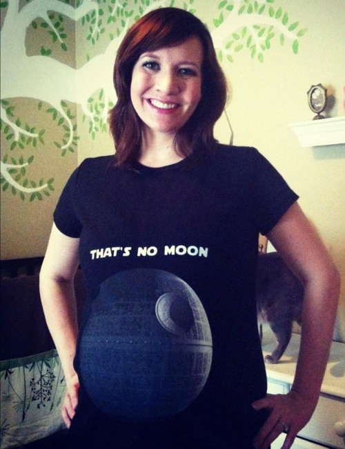 Star Wars pregnancy t-shirt