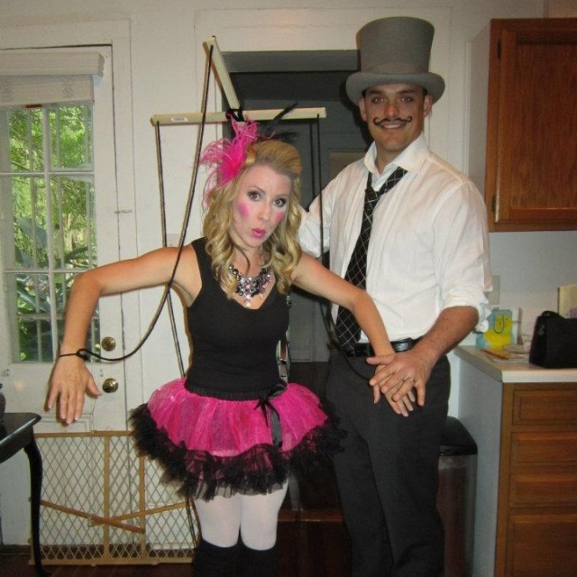 couples halloween costume puppet and puppeteer - Halloween Costumes Idea For Couples