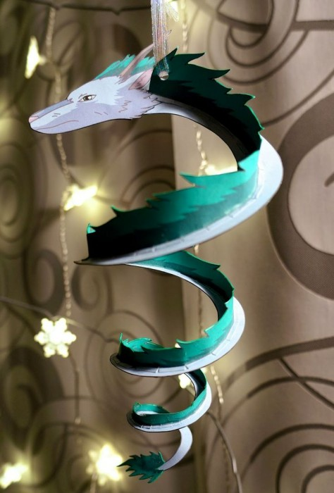 Dragon Haku Spirited Away Ornament