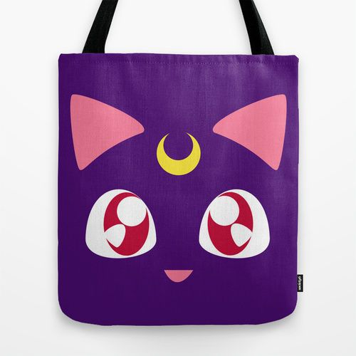 Sailor Moon Luna Tote Bag/ Handbag