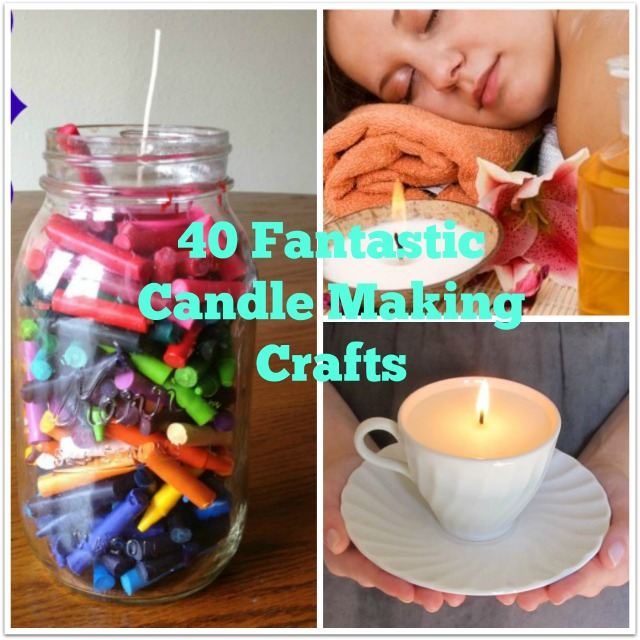 40 simple candle making instructions and ideas for Candle craft ideas