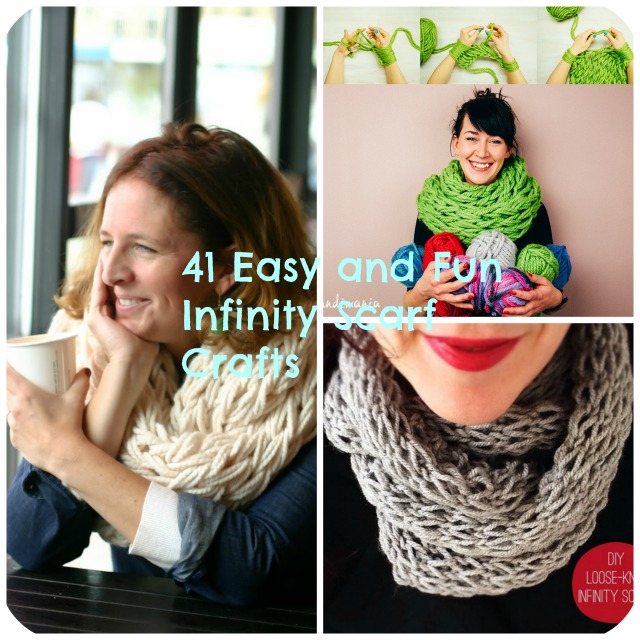 easy sew scarf how to make 41 easy and fun infinity scarves wear them