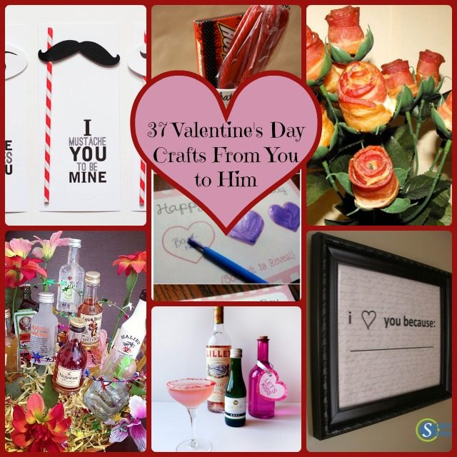 37 simple diy valentine's day gift ideas from you to him, Ideas