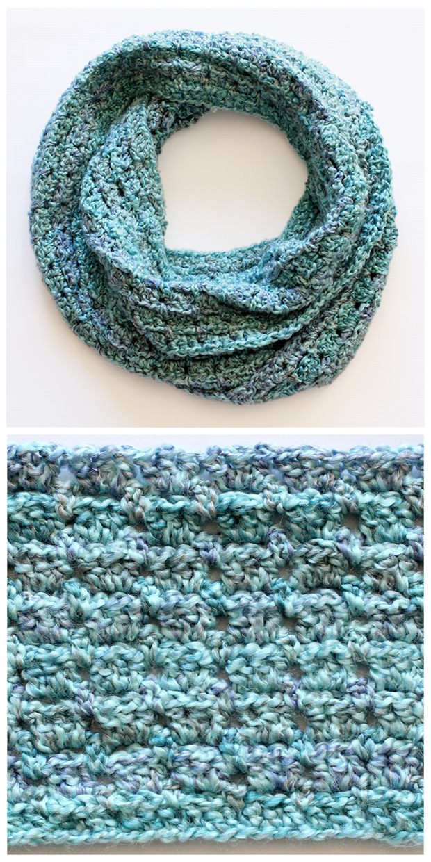 How to make 41 easy and fun infinity scarves wear them crochet infinity scarf crochetinfinitiscarfcowl011 dabblesandbabbles dt1010fo