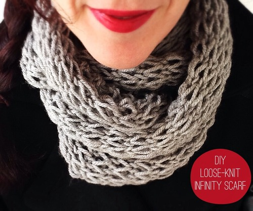 Loose Stitches In Knitting : How to Make 41 Easy and Fun Infinity Scarves & Wear Them