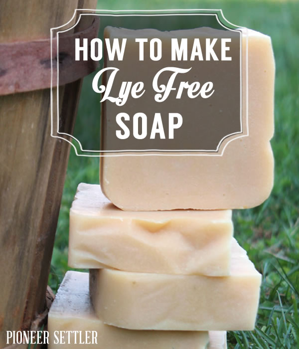 How To Make Natural Homemade Soap Without Lye