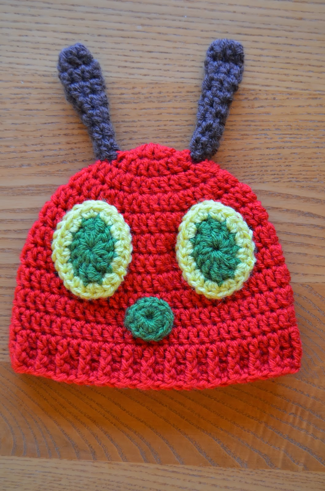Crochet Caterpillar Hat Pattern : 41 Adorable Crochet Baby Hats & Patterns to Make