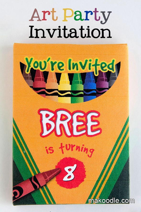41 Printable Birthday Party Cards Amp Invitations For Kids To Make Big Diy Ideas