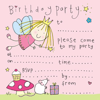 cute fairy party invitation freeprintabletemplate blogspot