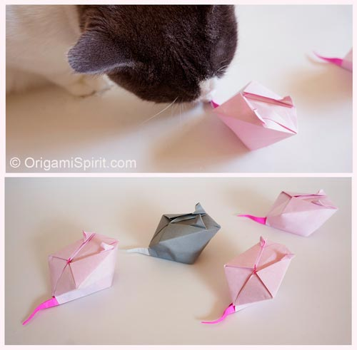 origami-mouse-for-your-cat