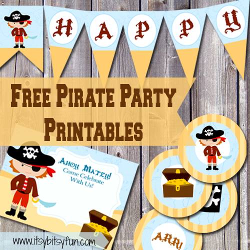 pirate invitations itsy bitsy fun