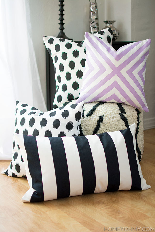 Making Decorative Pillows Ideas : 40 DIY Ideas for Decorative Throw Pillows & Cases