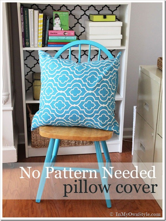 Make Throw Pillow Cover Without Sewing : 40 DIY Ideas for Decorative Throw Pillows & Cases