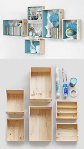 shelving for teen girls bedroom - Diy Room Decor For Teens