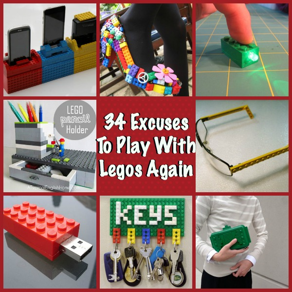 34 Diy Lego Crafts Ideas To Build With Bricks