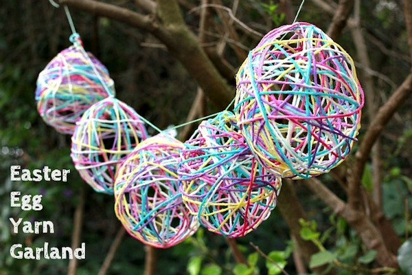 Easter-craft-yarn-egg-garland