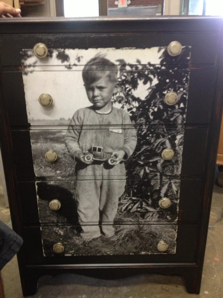 40 decoupage ideas for simple projects decoupaged dresser in memory of my father jeuxipadfo Image collections