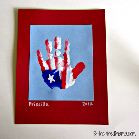 Patriotic Hand Print Craft 1_thumb