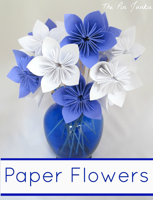 40 pretty paper flower crafts tutorials ideas paper flowers tutorial paper origami flowers mightylinksfo Gallery