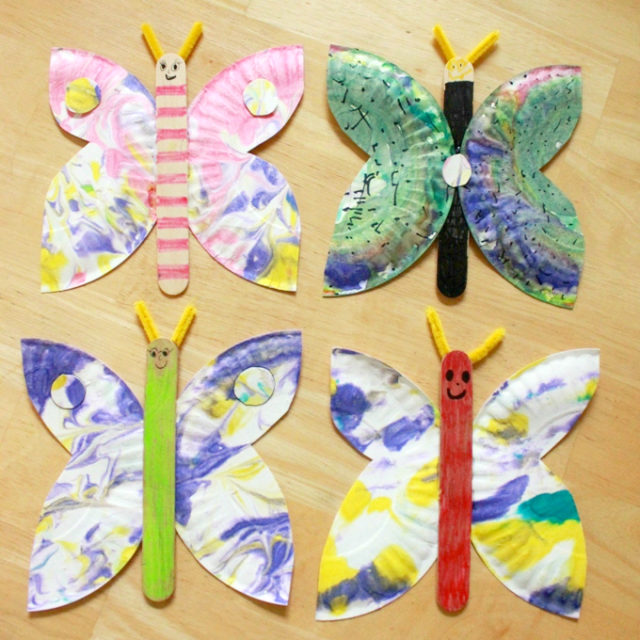 How-to-Make-Paper-Plate-Butterflies