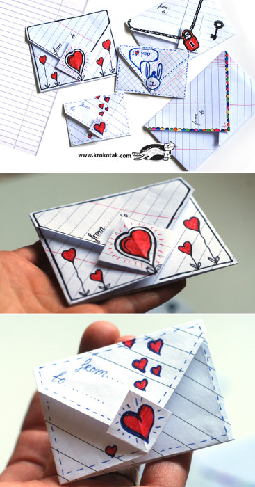 40 romantic diy gift ideas for your boyfriend you can make for Romantic origami ideas