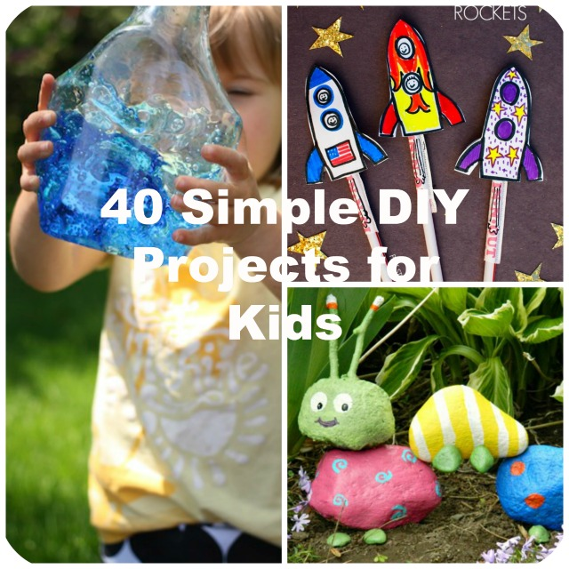 Simple Craft Ideas For Kids Part - 34: Big DIY Ideas