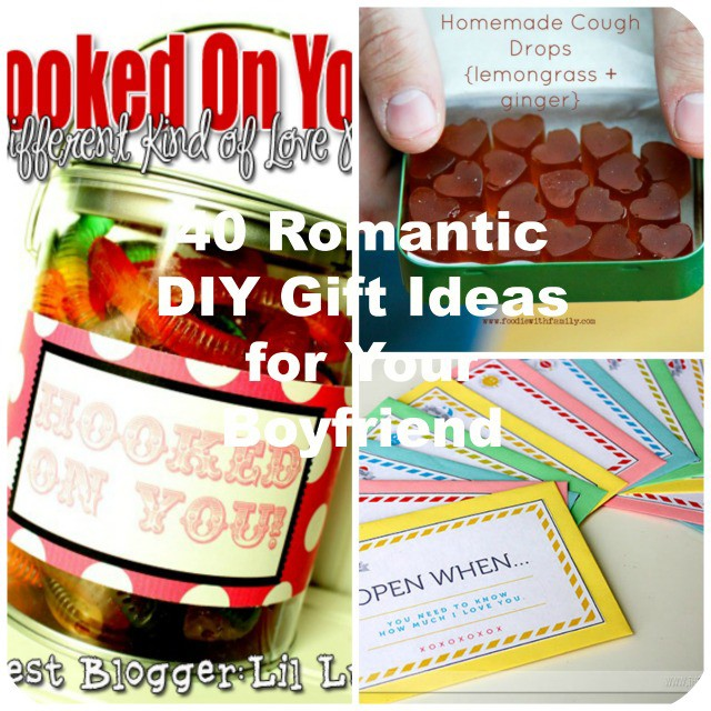 40 romantic diy gift ideas for your boyfriend you can make negle Image collections