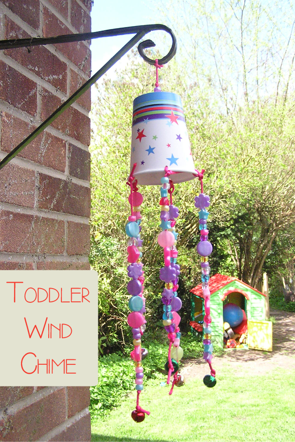 40 simple diy projects for kids to make for Easy to make wind chimes