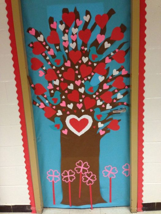 Valentine Door Decoration Ideas Classroom ~ Classroom door decoration projects for teachers
