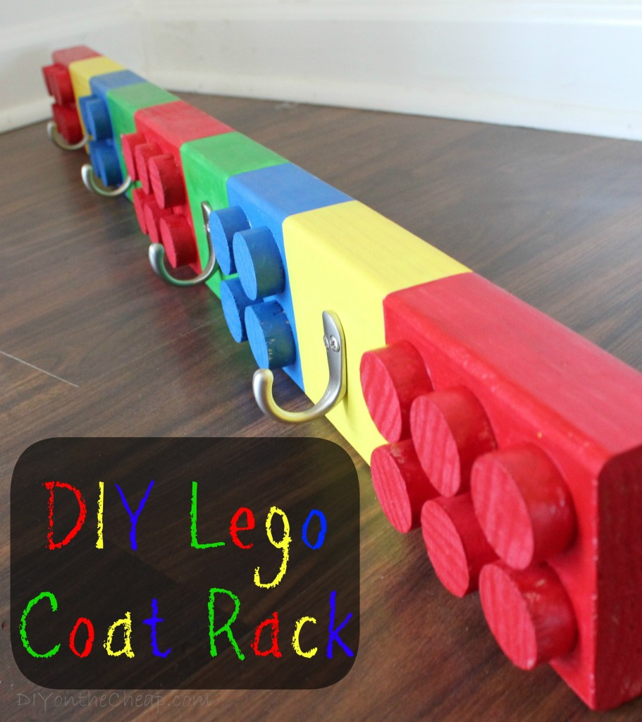 37 diy lego projects your kids can build diy lego coat rack solutioingenieria Gallery