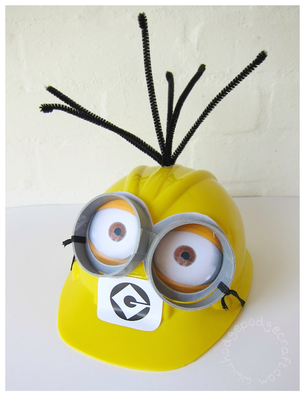 37 diy minion costume ideas for halloween diy minion construction hat1 solutioingenieria Gallery