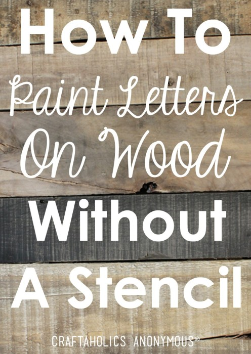 110 diy pallet ideas for projects that are easy to make - Painting with stencils on wood ...