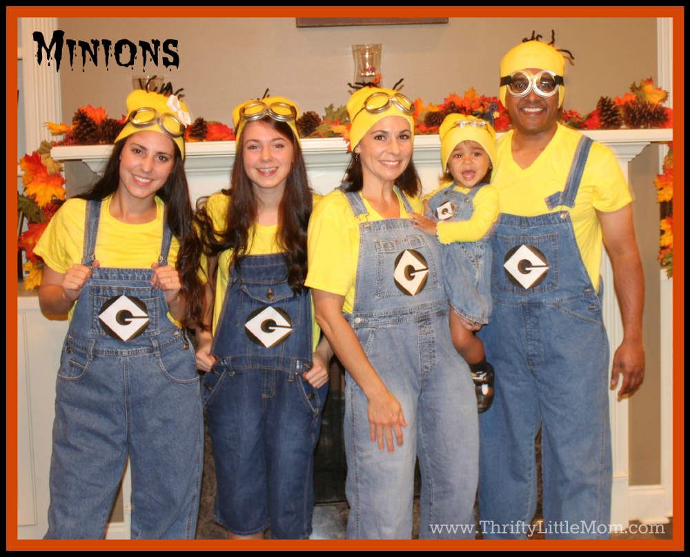 37 DIY Minion Costume Ideas for Halloween -