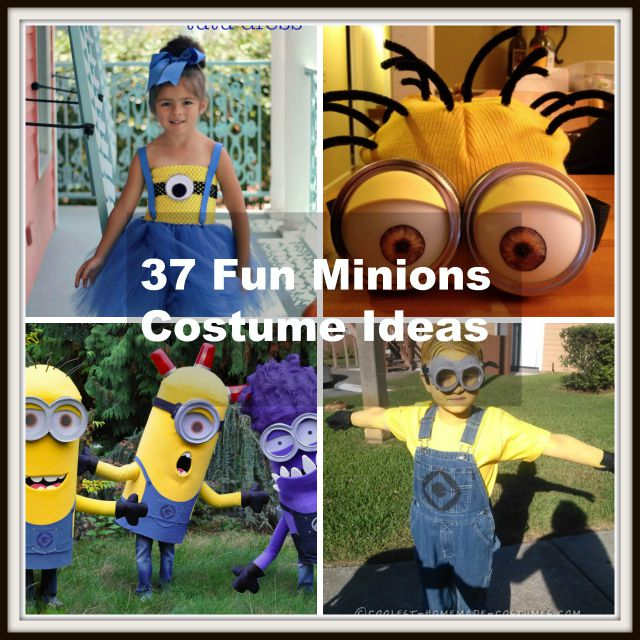 37 diy minion costume ideas for halloween solutioingenieria Image collections