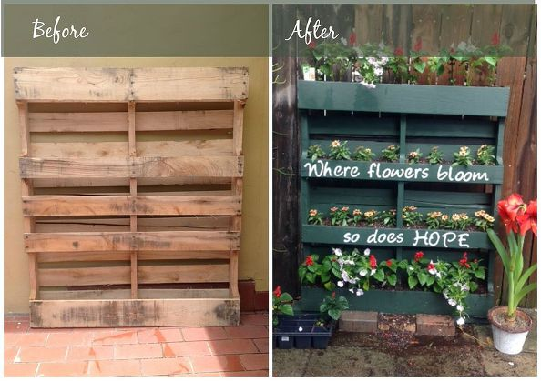110 diy pallet ideas for projects that are easy to make for How to make a vertical garden using pallets