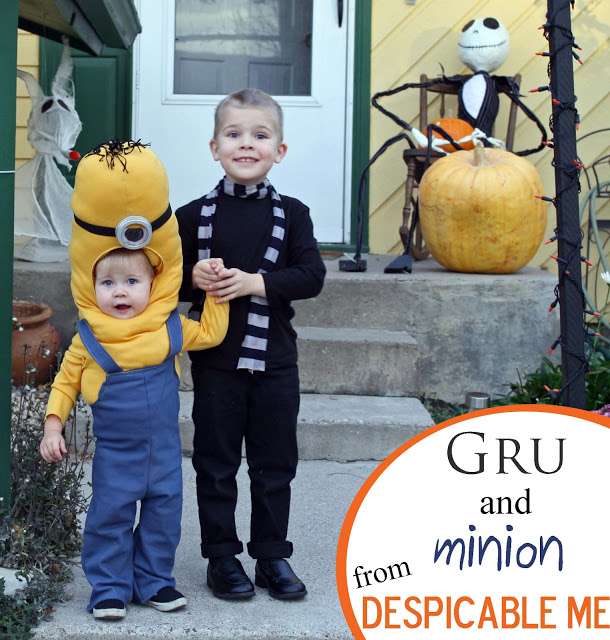 gru and minion