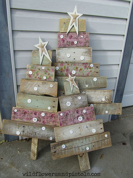 pallet wood christmas trees - Wood Christmas Tree