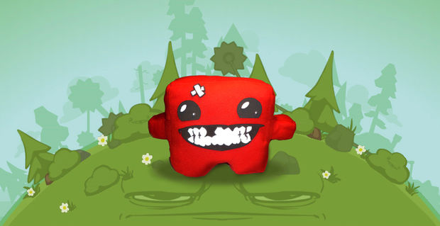 Super Meat Boy Plushy Toy