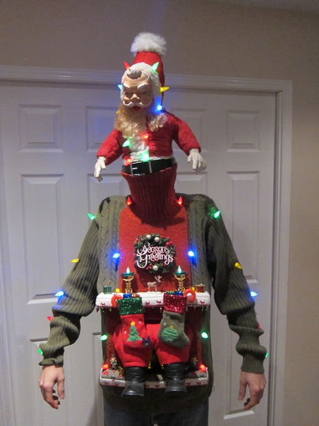 40 Diy Ugly Christmas Sweater Ideas Big Diy Ideas